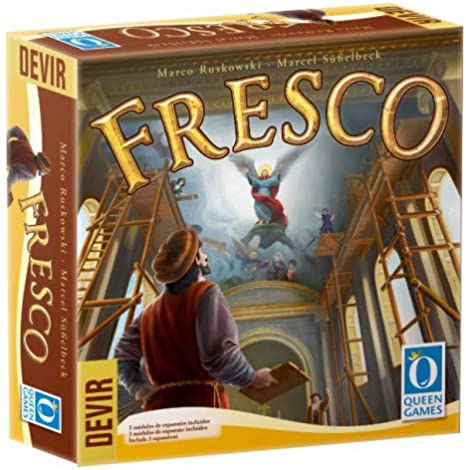 Devir- Fresco, Juego de Mesa, Multicolor (BGFRES): Amazon.es ...