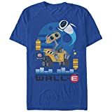 Wall-E Mens Eve Flight T-Shirt