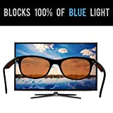 Blue Light Blocking Glasses - Computer and Gaming Glasses - Highest Quality Blue Blocker Glasses for Eye Protection from Digital Devices and to Promote Better Sleep