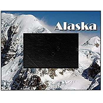 Amazon Com Northland Frames And Gifts Inc Alaska Oak Picture Frame And Oak Wooden Matte 5x7