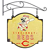 MLB Cincinnati Reds Tavern Sign, One Size, Red