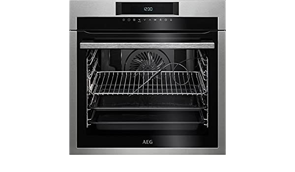 AEG BPE642120M Electric oven 71L A+ Acero inoxidable - Horno (Medio, Electric oven, 71 L, 71 L, 2900 W, 3 shelves): Amazon.es: ✅ Oferta Semanal