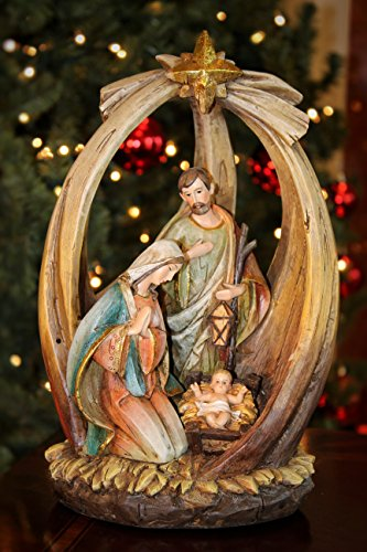 Summit Arbor Holy Family with Star Christmas Tree Topper by Summit Arbor LLC (Image #1)
