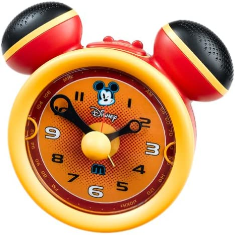 Memorex DCR5500-c Disney Electronics Disney Classic AM FM Clock Radio with Alarm