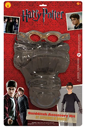 Quidditch Kit Child Costume Accessory Set (Harry Potter Quidditch Costume Kit)