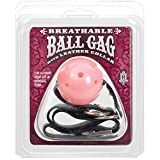 Ball Gag W/collar – Pink