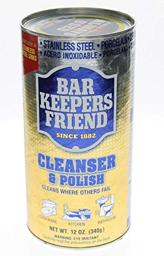 Price comparison product image Bar Keepers Friend® Cleanser & Polish: 12 OZ 6-pack