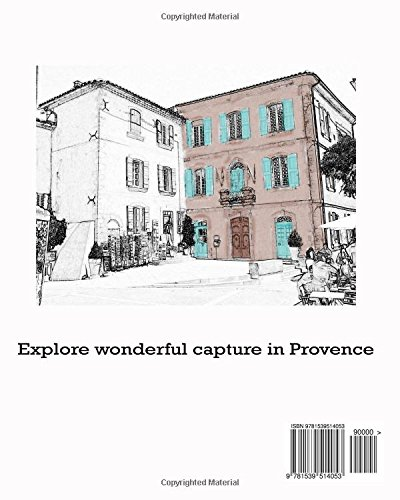Travel sketchbook The City of Fountains Provence Sketchbook