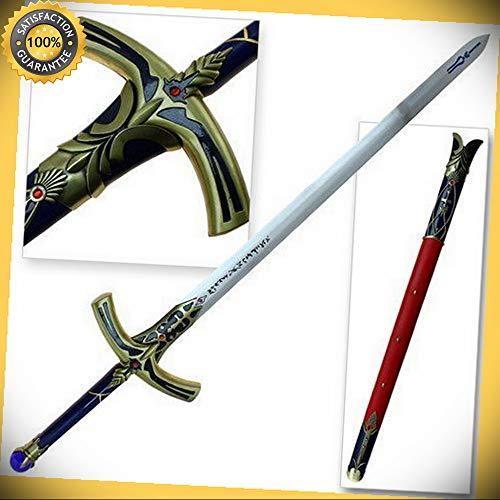 47'' Fate Stay Night Saber Caliburn Fantasy Anime Sword Costume Halloween Xmas perfect for cosplay outdoor -