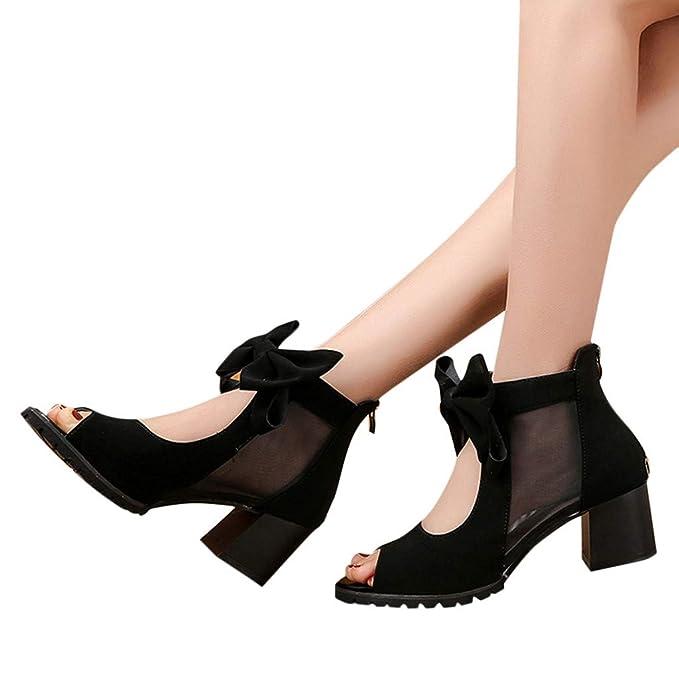Amazon.com  Kiminana Bowknot Sandals