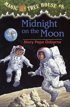 Das magische Baumhaus 8 - Abenteuer auf dem Mond 0590988255 Book Cover