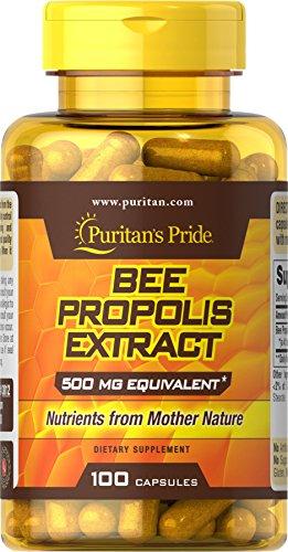 Puritans Pride Bee Propolis 500 Mg, 100 Count