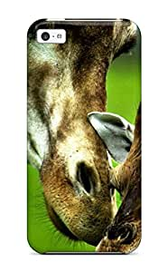 New ZippyDoritEduard Super Strong Giraffe Cute Animals Tpu Case Cover For Iphone 5c