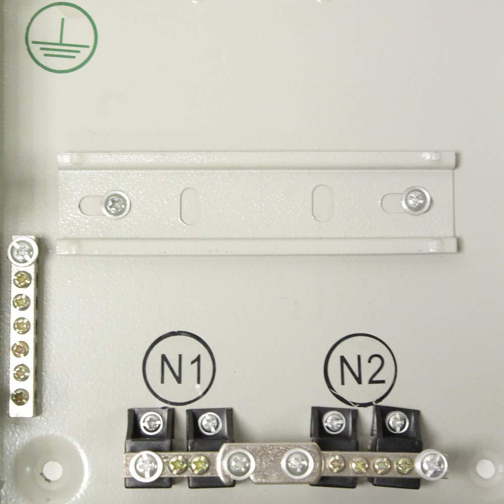 Caja de distribuci/ón el/éctrica de 14 m/ódulos 17.5 mm IP40 para Superficie de Metal SPN BeMatik