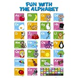 EDUCATIONAL - Alphabet Collections Poster Print, 24x36