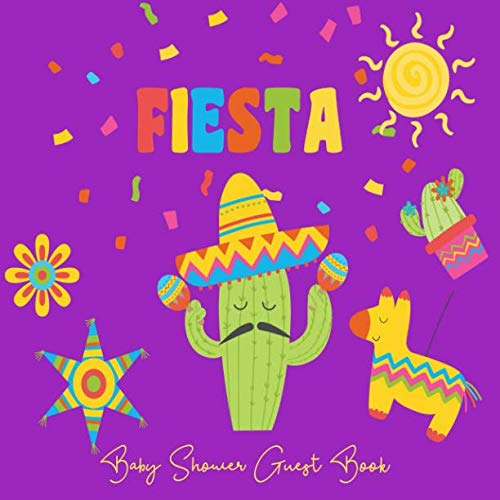 Decorating For Cinco De Mayo - Baby Shower Guest Book Fiesta: Mexico