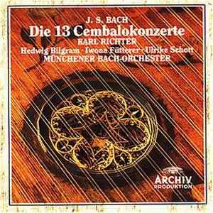 J. S. Bach: Die 13 Cembalokonzerte (Schott Die)