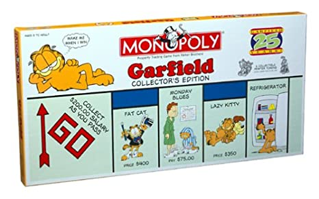 monopoly garfield 25th anniversary collector\\\\\\\\\\\\\\\'s edition