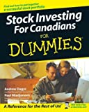 Stock Investing for Canadians for Dummies, Andrew Dagys and Paul Mladjenovic, 0470833424