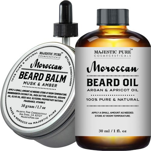 Majestic Pure Beard Oil Balm product image