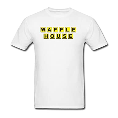 02a86f89 Amazon.com: SUNRAIN Men's Waffle House Logo T Shirt: Clothing