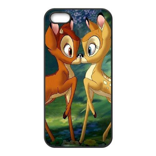 Bambi coque iPhone 4 4S Housse téléphone Noir de couverture de cas coque EBDOBCKCO10596