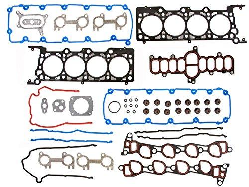 Head Gasket Set Kit Valve Fix For 1997-1999 Ford Expedition Econoline E150 F150 F250 4.6L V8 VIN Code 6 WINDSOR MLS