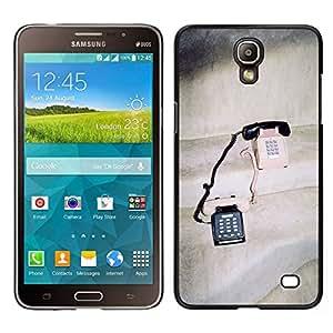 // PHONE CASE GIFT // Duro Estuche protector PC Cáscara Plástico Carcasa Funda Hard Protective Case for Samsung Galaxy Mega 2 / Vintage Phones Cute Love Couple Sharing /
