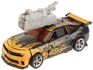 Hasbro Transformers Dark of the Moon Mechtech Deluxe Cyberfire Bumblebee - Robot transformable en vehículo de juguete