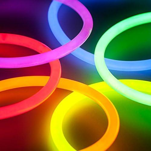 Knicklichter Party Partylicht 15 Stück Knick Lichter NEON Farben Armband Kette