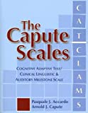 The Capute Scales, Pasquale J. Accardo and Arnold J. Capute, 1557668132