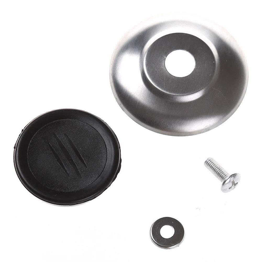 5 Pcs Heat-Resistant Pot Pan Lids Knob,Cooking Pot Pan Lids Replacement Knob Lifting Handle Home Kitchen Cookware Replacement Parts Universal Pot Lid Cover Knob Handle Set of 4