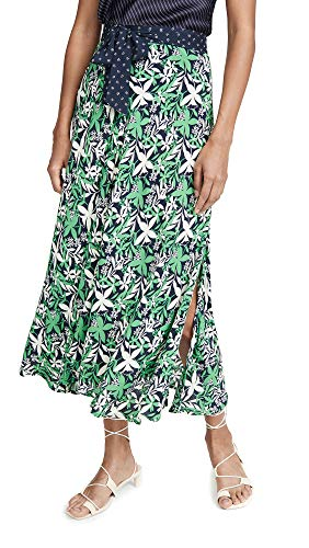 (Velvet Women's Susannah Skirt, Verde, Green, Floral, X-Small )