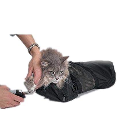 GRASSAIR Pet peluquería Bolsa de sujeción Gato Novio Gran ...