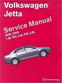 volkswagen jetta service manual 2005 2006 a5 platform 1 9l tdi rh amazon com Mygmlink Owner's Manual Haynes Manual Pictures Back