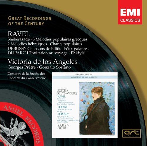 Victoria de Los Angeles Performs Ravel, Debussy & Duparc (Great Recordings of the Century) by EMI Classics