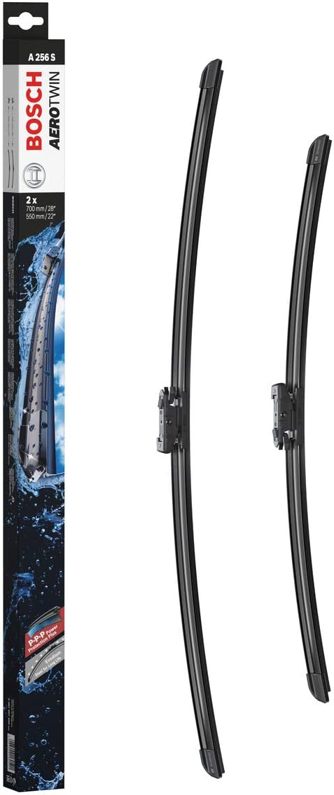 Bosch Wiper Blade Set Aerotwin 700 A256S 550 Length: New color Indefinitely