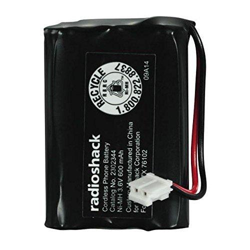 RadioShack Cordless Phone Battery - Catalog No. 2302344