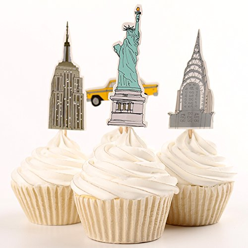 Cupcake Toppers Picks Various Themes