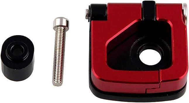 Accesorios de Gancho Bolsa de Transporte de aleaci/ón de Aluminio para Casco de Motocicleta o Scooter XuBa