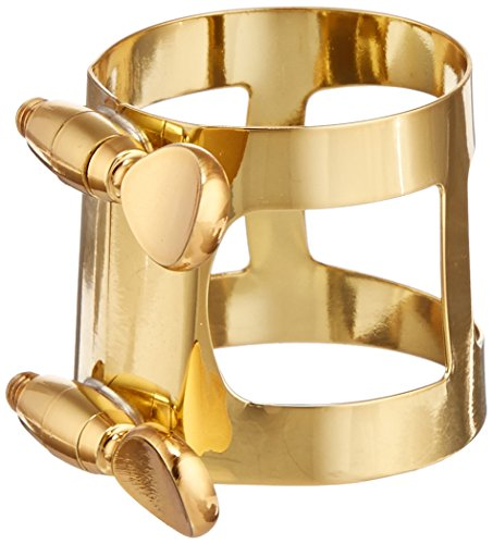 Yamaha YAC-1617 Eb Baritone Sax Ligature Gold 5C, used for sale  Delivered anywhere in USA