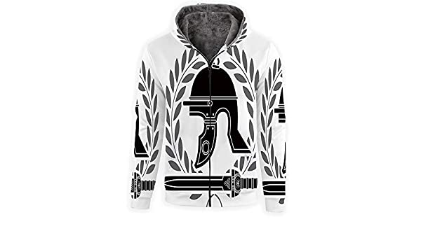 MOOCOM Unisex Tie Dye Decor Sweatshirts Crewneck