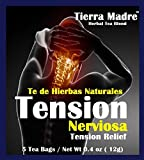 Tierra Madre Tension Tea Tradiconal Herbal Support – 10 Pack of 5 tea Bags / 0.2 Ounces For Sale