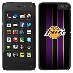 LOVE FOR Amazon Fire Phone Los Angeles Laker Basketball Personalized Design Custom DIY Case Cover