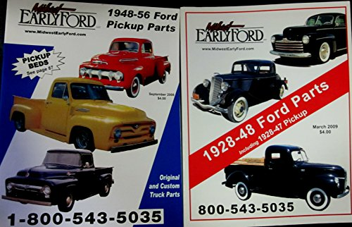 Set of Two Midwest Early Ford Pickup Parts Catalogs for sale  Delivered anywhere in USA