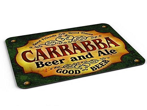 Carrabba Beer   Ale Mousepad Desk Valet Coffee Station Mat