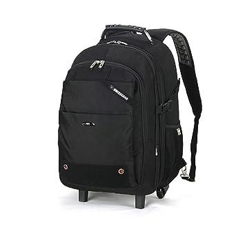 Trolley mochila de equipaje de mano Carretilla Mochila Versátil Grande Capacidad Ultraligero Mochilas Para Viaje Aviación Equipaje Negocios Maleta Daypack ...