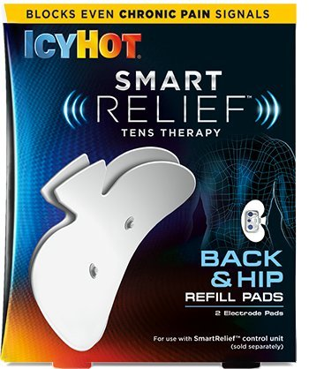 ICY HOT Smart Relief TENS Therapy, Back and Hip Refill Kit, 1 each, Reusable Electrode Pads for Wire-Free TENS Therapy Pain Relief for Back and Hips, TENS Therapy Can Help with Chronic Pain primary