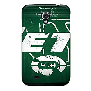 Samsung Galaxy S4 HgU2352XLoq Provide Private Custom Attractive New York Jets Series Shock-Absorbing Cell-phone Hard Cover -JoanneOickle