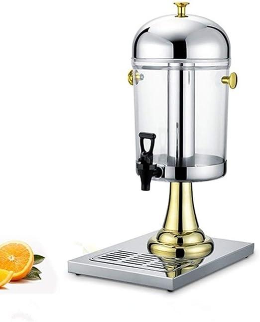XRJ Dispensador de Jugo Premium Moderna pequeña Capacidad automática de Bebidas Máquina de Hogares Jugo Duradero dispensador (Color : Gold, Size : 26x35x55cm): Amazon.es: Hogar